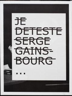 RERO - Je déteste Serge Gainsbourg