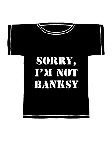 Speedy Graphito – Sorry I'm not Banksy