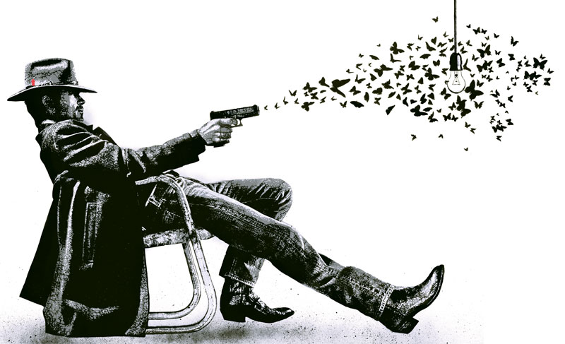 JEF AEROSOL – Butterfly Cowboy